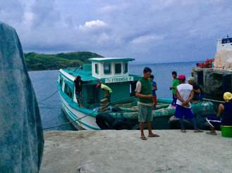The Intransa Vessel that brought us to Itbayat Island